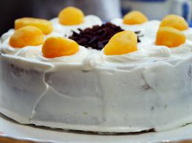 抹茶と生クリームのケーキ02