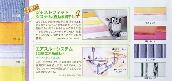 1本針3本糸ロックミシン写真01