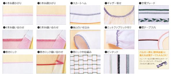 2本針4本糸ロックミシン写真05