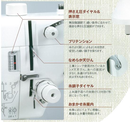 ジャノメコンパクト電子ミシン 780dx写真01