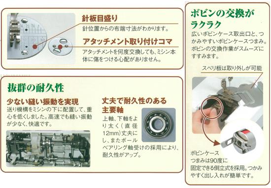 ジャノメコンパクト電子ミシン 780dx写真02
